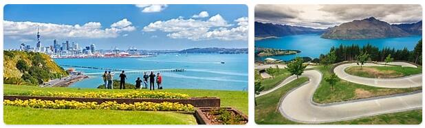 New Zealand seasons at a glance